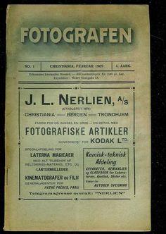 1909,nr 001, FOTOGRAFEN.