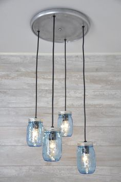 Mason jar chandelier oil rubbed bronze mason jar chandelier a personal favorite from my etsy shop httpsetsy aloadofball Choice Image