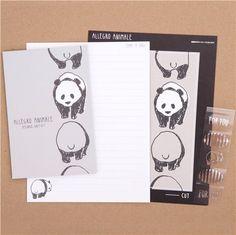 cute panda bear Letter Set from Japan - Letter Sets - Stationery - kawaii shop modeS4u