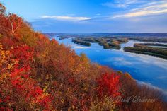 2. Pikes Peak State Park turning orange for fall - 13 sites to see in Iowa.