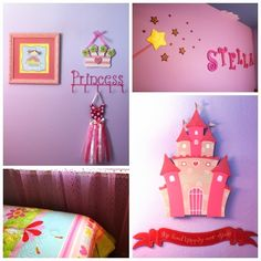 Princess Bedroom Makeover ~ Eight By Five