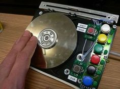 HDDJ: Turning an old hard disk drive into a rotary input device