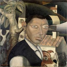 I thought this portrait by Gustave Van de Woestyne looked a little like Jeff Goldblum. What do you think?
