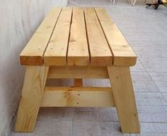 Woodworking How To How To Build A Simple Sitting Bench – Jays Custom Creations - Here's 50 great beginner woodworking projects that will get you comfortable with the basics of building with wood. Some of the projects below can be completed. Diy Wood Projects, Furniture Projects, Wood Crafts, Rustic Furniture, Diy Furniture, Furniture Stores, Outdoor Furniture, Furniture Cleaning, Simple Furniture