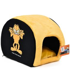 Free Shipping Three Patterns Pet Bed Dog Cat House Famous Cartoon Role Garfield Cute and Lovely Design Soft Comfortable Fashion