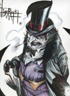 The Penguin #batman #fanart #art