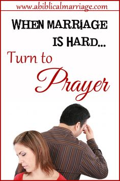 What can you do when your marriage is going through a hard season {or two}? The only thing you can do is turn to prayer and let God change your marriage!