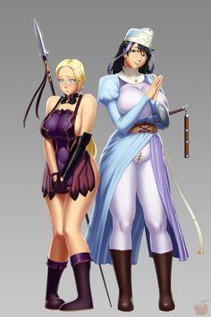 queen_s_blade___cattleya_and_melpha_by_sentrythe2310-d84a5kz.png (1000×1500)