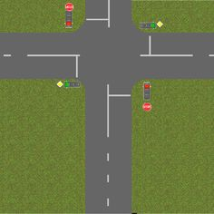 A rough schematic of driving in Eastern Europe