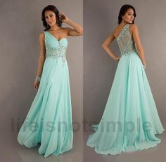 Fashion one shoulder Bridesmaid dress / long bridesmaid dresses / long prom dress / long evening dress / custom size custom color on Etsy, $135.00