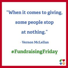 It's #FundraisingFriday. Please Make a Donation to Your Favorite Nonprofit!