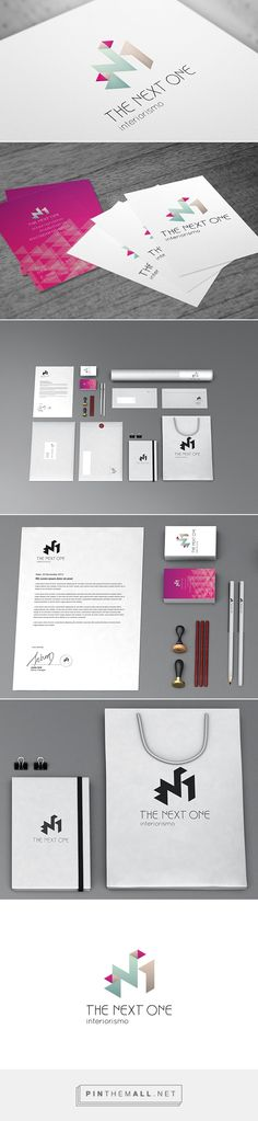 The Next One - Interior design branding on Behance - created via http://pinthemall.net