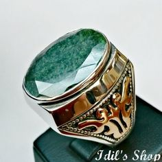 Men's Ring Turkish Ottoman Style Jewelry