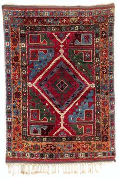 Turkish Yatak rug, second half 19th century