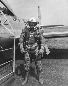 LIFE magazine - Navy pressurized high altitude suit. ...not sure of the date published but i'd have to guess the late 1950s or early 1960s. United States Navy United States Air Force