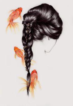 Ilustraciones minimalistas por Peony Yip