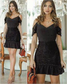 ✨ Perfect Black Dress! Lacrou!  ✨ ✨  ✨ ✨  Gostou do Look? . ✨Solicite o Preço ou qualquer informação por Whatsapp ou fixo: Goiânia (62): GCM 98315 0200; 3534-3180; GCM II 98315 3355; 3534-3180; Fama 98315 3366; 3926-7770; Virtual 98237 4948; 3941-7152; Av. 44: 99430 3752; 3996-5020. . .  ✨ Faça pedidos pelo site: loja.lisabrasil.com.br . .  ATACADO e VAREJO .  Aceitamos cartões ✅  Entregamos ✈ em todos os países  . . #modafeminina #roupafeminina #vestido #ves...