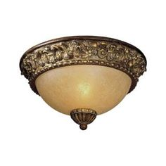 Check out the Minka Lavery 960-126 Belcaro 1 Light Flush Mount in Belcaro Walnut with Aged champange Glass priced at $69.90 at Homeclick.com.