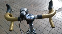 Restored handlebar with new bar tapes