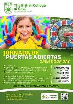 OPEN DOOR DAY // PUERTAS ABIERTAS