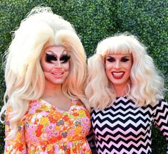 Are You Trixie Mattel Or Katya Zamolodchikova? Katya And Trixie Mattel, Katya Zamolodchikova, Tv Awards, Personality Quizzes, Rupaul Drag, Season 7, Lady Gaga, Mtv, Hanging Out