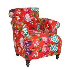 Loni M Designs Jimmy Arm Chair Fabric: