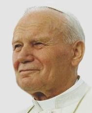 Blessed John Paul II  Papacy began	16 October 1978  Papacy ended	2 April 2005  Predecessor	John Paul I  Successor	Benedict XVI  Orders  Ordination	1 November 1946  by Adam Stefan Sapieha  Consecration	28 September 1958  by Eugeniusz Baziak  Created Cardinal	26 June 1967  Personal details  Birth name	Karol Józef Wojtyła  Born	18 May 1920  Wadowice, Republic of Poland  Died	2 April 2005 (aged 84)  Apostolic Palace, Vatican City  Nationality	Polish (with Vatican citizenship)