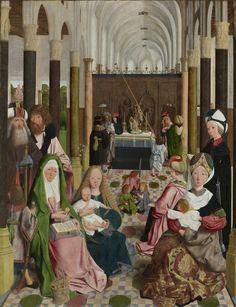 De heilige maagschap, workshop of Geertgen tot Sint Jans, ca. 1495