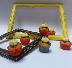 Mini cupcake banana e gocce di cioccolato