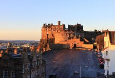 Stunning morning light against Edinburgh Castle this morning - we really are spoilt by the views from our Rooftop Terrace!