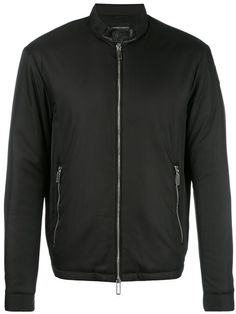 EMPORIO ARMANI Zipped Pocket Jacket. #emporioarmani #cloth #jacket