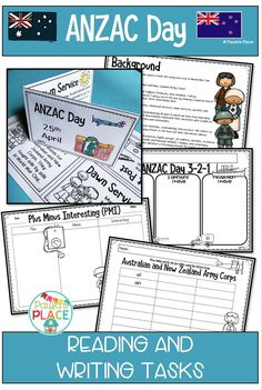 ANZAC Day is an important day in Australian and New Zealand History. April 25 marks the day to remember the people who were lost and families who were changed forever. This pack is for early learners to begin to develop an appreciation of this significant day. Teaching Reading Strategies, Guided Reading Activities, Sight Word Activities, Writing Strategies, Teaching Activities, Reading Resources, Teaching Writing, Primary Teaching, Reading Comprehension