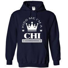 (Tshirt Amazing Design) Kiss Me I Am CHI Best Shirt design Hoodies, Funny Tee Shirts