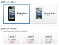 iPhone 5 showing 'In Stock' status in international Online Apple Stores - In time for the lucrative holiday shopping season, a number of international Online Apple Stores, including the U.S. and Canada, are showing immediate availability of the company's newest iPhone 5.