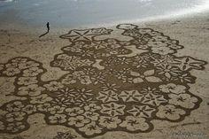 amazing beach art