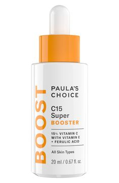 Paula's Choice Boost C15 Super Booster Concentrated Serum #VitaminCMask