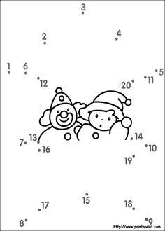 jeux du dessin en points à relier