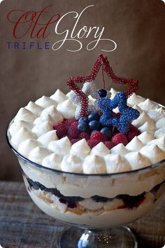 Old Glory Trifle from e-mealz