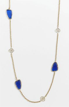 Nordstrom.com Kendra Scott 'Kinley' Long Station Necklace