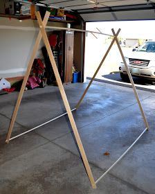 Bright Forest: DIY Tent