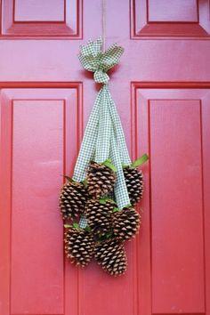 Enfeite Seu Natal Com Pinhas!por Dep�sito Santa Mariah