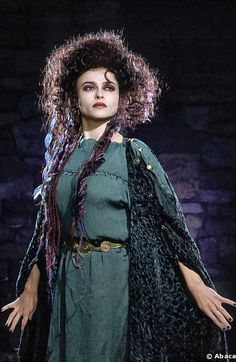 helena bonham carter merlin. If only I could look that good in her make up.