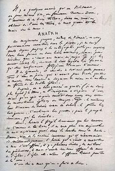 Victor Hugo's manuscript for The Hunchback of Notre Dame (Notre Dame de Paris).