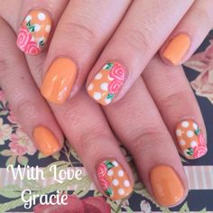 Jessica GELeration nail art. Created by With Love Gracie.