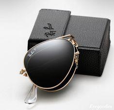 Ray Ban Folding Aviator Sunglasses - pesquisa google