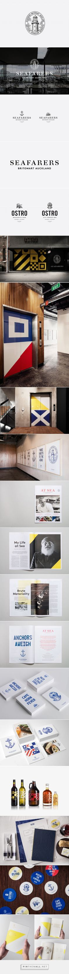 New Brand Identity for Seafarers by Inhouse - BP&O - created via http://pinthemall.net