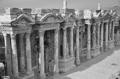 Hierapolis-Amphy Theatre /Denizli-Turkey