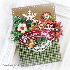 Hello everybody, My first Christmas card this year belongs of course to Graphic 45 Of course I have a vid. My First Christmas, Twelve Days Of Christmas, Prima Planner, Beautiful Christmas Cards, Jingle All The Way, Card Making Inspiration, Holiday Cards, Graphic 45, Christmas Crafts