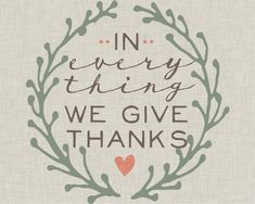 Beautifully Rooted: Give Thanks-Free Printable