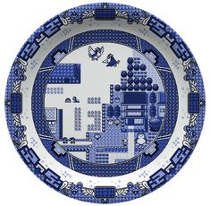 Olly Moss designs game-inspired dinnerware